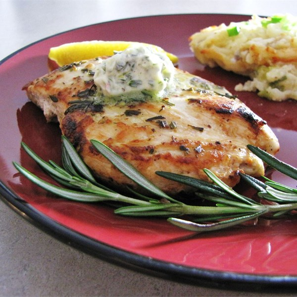 Rosemary Lemon Grilled Chicken