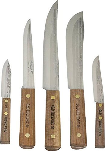 review new old hickory 705 usa 5 piece kitchen knife set