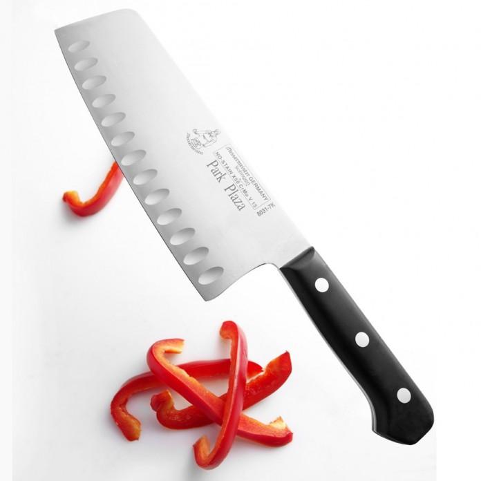 Messermeister Park Plaza Kullenschliff Vegetable Knife, 7-Inch