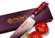 Professional 8 inch Chefs Knife by ProChef1. 67 Layer VG10 Super Steel Damascus Gyuto Styled. Top Quality Japanese High Carbon Stainless Steel. Guaranteed Razor Sharp. Unrivaled Performance. Full Tang