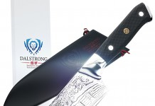 "DALSTRONG Santoku Knife - Shogun Series - VG10 - 7"" (180mm)"