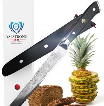 "DALSTRONG Bread Knife - Shogun Series - VG10 - 10.25"" (260mm)"