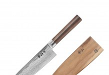 Cangshan J Series 62762 Japan VG-10 Forged Chef Knife with walnut sheath, 8-Inch