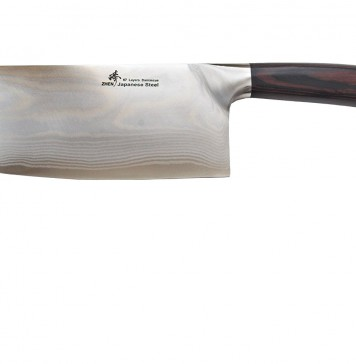 ZHEN Japanese VG-10 67 Layers Damascus Steel Light Slicer Chopping chef butcher Knife 6.5-inch