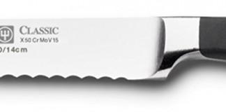 "Wusthof Classic 4110 Serrated Utility Knife (Sausage knife ) 14 cm 5"""