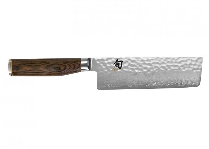 Shun TDM0742 Premier Nakiri Knife, 5.5-Inch