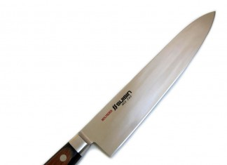 Suisin Inox Western-style Chef Knife Genuine Sakai-manufactured Houcho.com Gyutou (Inox Steel) 240 mm